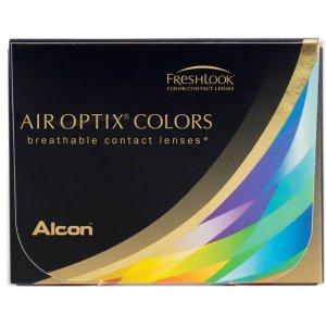 Air optix多色可选美瞳两片装 月抛