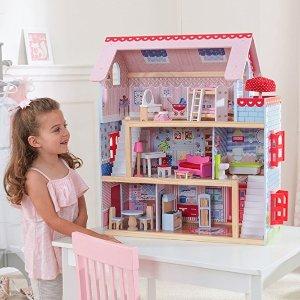 低至5折+包邮 封面款补货史低价:Kidkraft 小厨房、娃娃屋、火车桌等玩具特卖