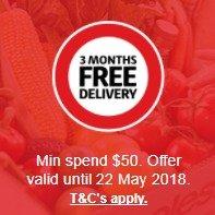满$50包邮免邮至5月:Coles超市 食品、日用品、保健品热卖