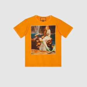 #GucciHallucination 橘色上衣