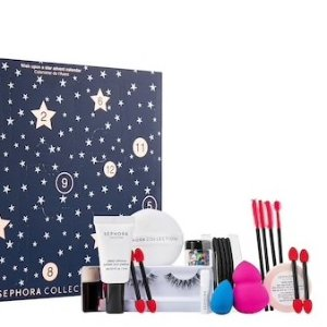 $18 ($85 Value)SEPHORA COLLECTION Wish Upon a Star Advent Calendar