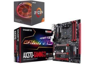 $319.98AMD RYZEN 7 2700X cpu + GIGABYTE GA-AX370-Gaming 3 主板组合