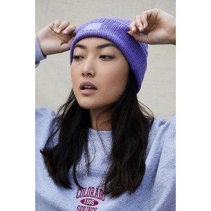 Urban Outfitters香芋紫毛线帽
