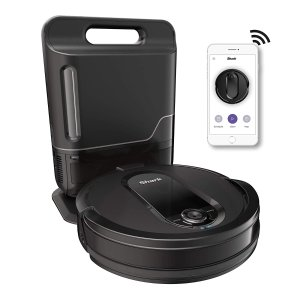 Shark IQ R1001AE Self-Empty Base Smart Robot Vacuum