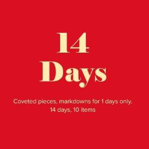 低至5折 收藏此贴W Conccept 春节14天不打烊 每日刮刮乐解锁一个新品牌