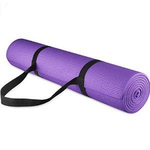 BalanceFrom 高密度防滑瑜伽垫 送便携肩带