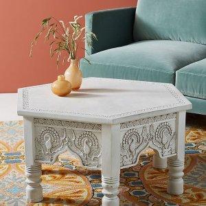 低至6折 £498收懒人小沙发Anthropologie 夏日家具大促销 精美ins风柜子、小桌打造理想小窝