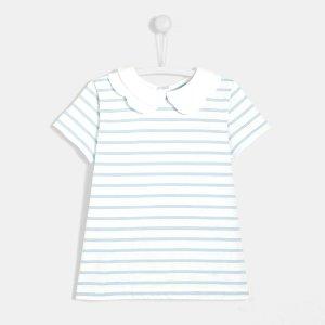 JacadiGirl striped polo