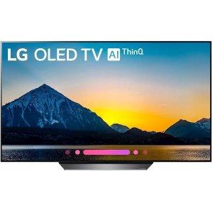 55吋 $999.99 65吋$1899.99LG B8 OLED 4K HDR智能电视 2018款 两款可选