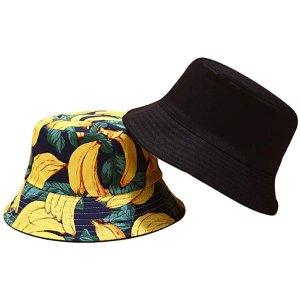 香蕉双面渔夫帽