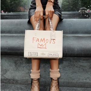 低至5折+免邮+多款降价Coach X Jean-Michel Basquiat 联名热抢$49起