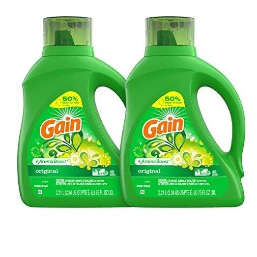 洗衣液2瓶 可洗96次