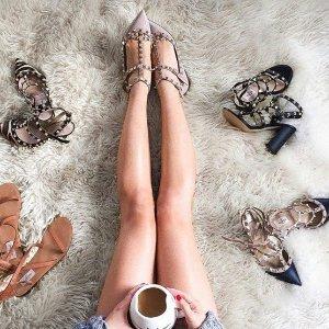 低至7.5折 铆钉鞋$699起Valentino 美鞋、美包热卖