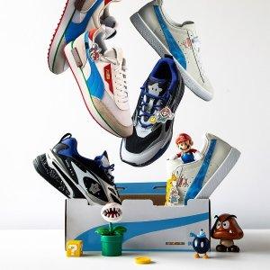 11月27日登陆官网预告:Puma X Nintendo 马里奥兄弟联名球鞋即将上市