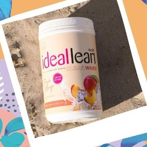 低至5折+额外7.5折+低门槛包邮独家:IdealFit官网 水果口味蛋白粉、胶原蛋白等好价促销