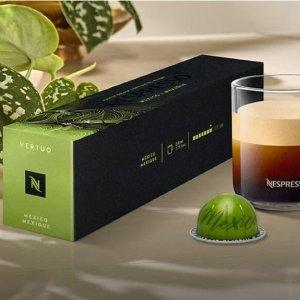 买7条送1条Nespresso Vertuo line 特浓咖啡胶囊特卖
