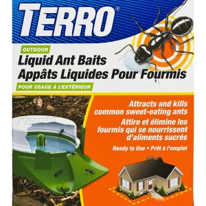 $9.98(原价$21.66) 一网打尽TERRO T1806CAN 室外用灭蚂液 6个装 布下甜蜜陷阱