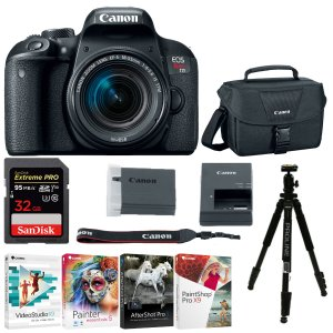 $749Canon EOS Rebel T7i DSLR Camera with EF-S 18-55mm IS STM Lens