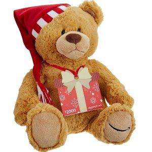 $2000 亚马逊礼卡亚马逊买礼卡送小熊 2017年版
