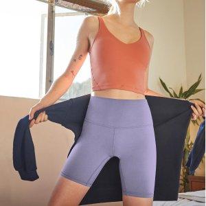 低至5折 Align运动裤$69Lululemon 折扣区运动短裤、运动内衣$39收 运动口罩三只$19