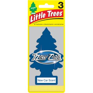 LITTLE TREES air fresheners New Car Scent 3-Pack - Walmart.com