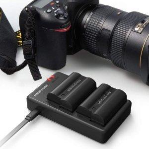 $32.39(原价$37.39)Nikon EN-EL15 相机电池充电座 兼容多款相机型号