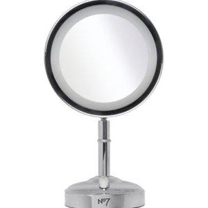 仅17.99(原价49.99)No 7 LED灯化妆镜白菜价!3.5折史低速收!3色可选!