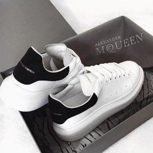 8.5折+免邮 $459含税(定价$650)最后一天:Alexander McQueen 网红小白鞋好价 全面开放