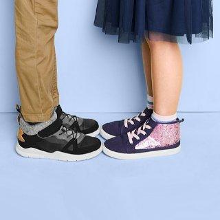全场包邮 运动鞋$15.2 $20封顶 有0-14岁儿童码OshKosh BGosh  新款童鞋新低价 一律5折+满$40享8折
