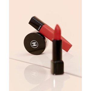 满$50享20倍积分 变相7折Chanel 香奈儿彩妆热卖 收新款气垫唇釉、Coco flash唇膏