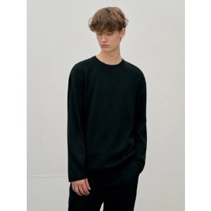 CLIFLoose Fit Soft Knit Sweater_Black
