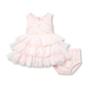 婴儿连衣裙套装