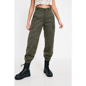 Urban Outfitters墨绿色工装裤