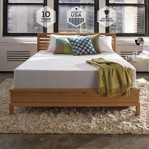 Sleep Innovations Marley 10寸 Cooling Gel 海绵床垫,Queen号