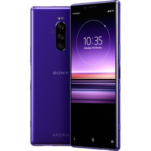 """Xperia 1 解锁版智能手机 6.5"""" 4K HDR OLED 128GB"""