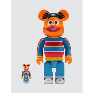 Medicom ToyBe@rbrick 100% & 400% Ernie Set