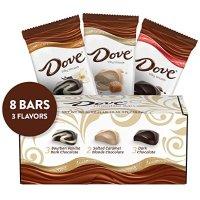 Dove 巧克力 3口味混合装 3.3oz 8条