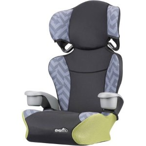 Evenflo Big Kid Sport High Back Booster Car Seat Goody Two Tones Walmart