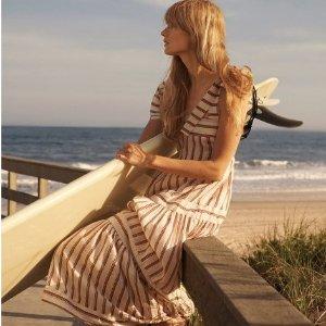 3折起 £17收印花裙Mango 春夏度假风专场 收优雅印花裙 准备美美哒出游