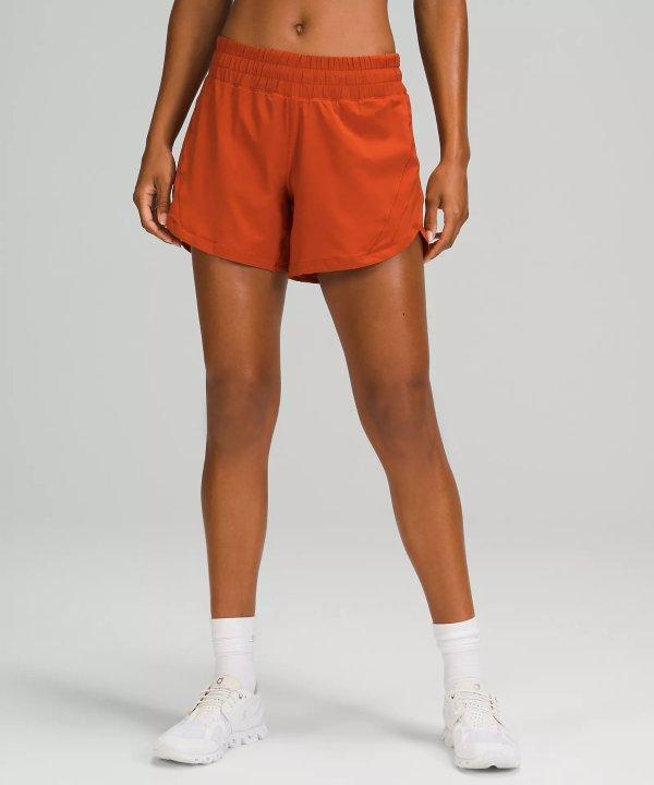 女款中腰运动短裤