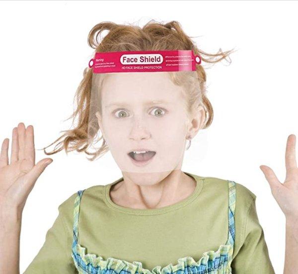 儿童防护面具10个