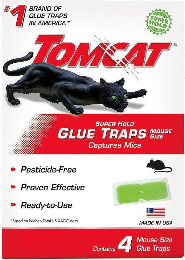 Tomcat 专业捕鼠贴 4张 捕捉老鼠和各类害虫