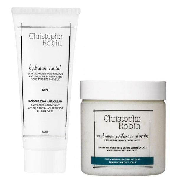 海盐头皮洗发膏 (250ml) +保湿护发乳 (100ml)