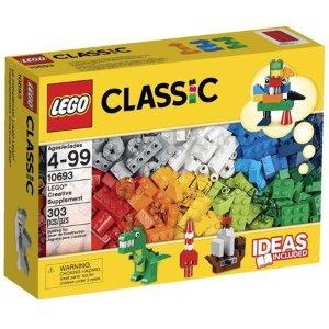 $9.99手慢无:LEGO 303片经典创意盒10693 难得5折