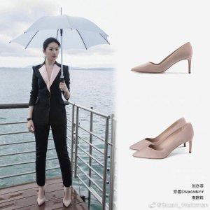Stuart Weitzman刘亦菲同款Anny高跟鞋