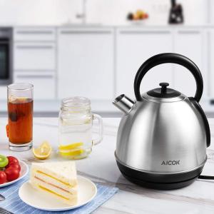 低至5折,£13.59 起闪购:Aicok 透明玻璃电热水壶