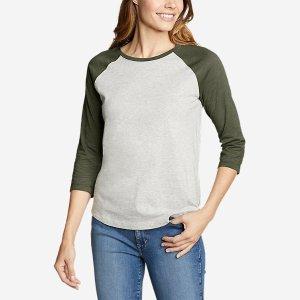 Eddie BauerLegend Wash 3/4-Sleeve T-Shirt