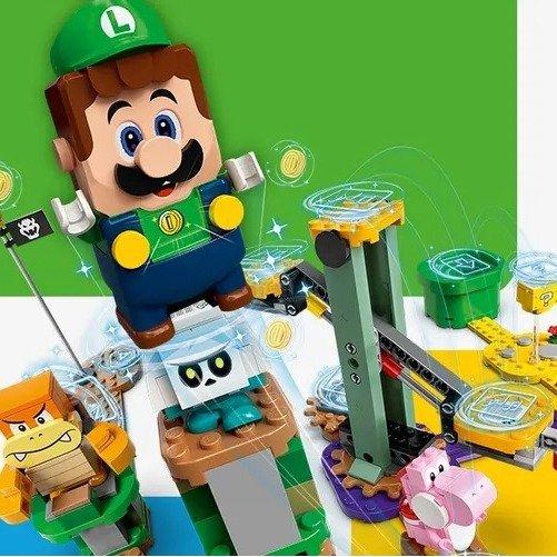 LEGO官网 超级玛丽兄弟Luigi起始包发布LEGO官网 超级玛丽兄弟Luigi起始包发布