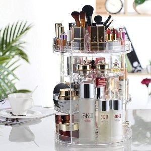 现价£13.99(原价£25.99)超实用的化妆护肤品亚克力收纳热促 收纳达人必备