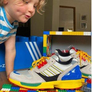 9月25日发售 定价€129.95adidas x Lego 限量合作鞋款ZX 8000已上架 实物抢先看